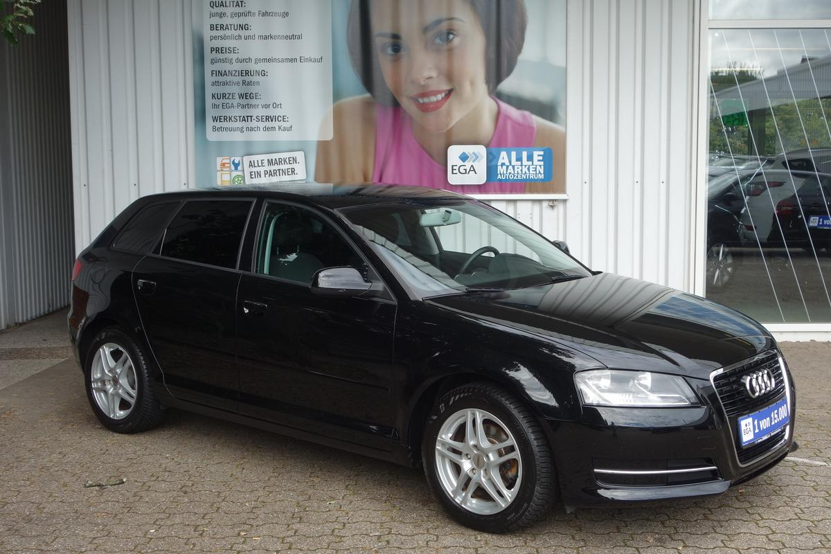 Audi A3 1,6 TDI Attraction *1.HD*KLIMAAUTO*DYN FW*FIS*ALU*