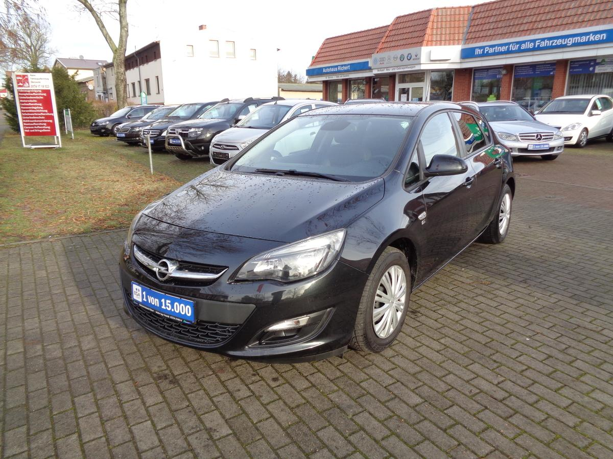 Opel Astra 1.4 150 Jahre Opel Climatronic PDC Sitzhz